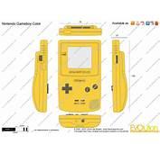 The Blueprintscom  Vector Drawing Nintendo Gameboy Color