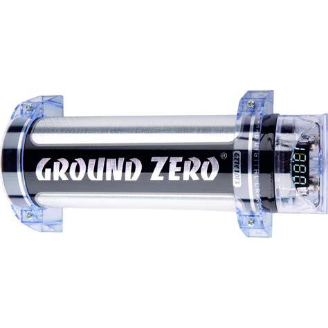 capacitor ground ground zero titanium gztc 1 0fx capacitor 1 farad cap for car audio lifiers ebay