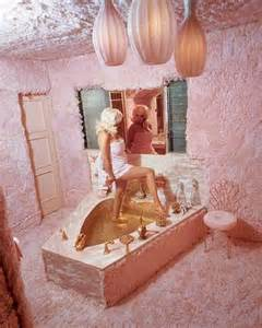 jayne mansfield s shaped tub in the boudoir