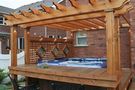 15 hot tub deck surround ideas hottubworks spa hot tub
