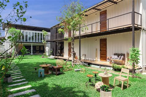 In The Backyard Or On The Backyard by Adisornr Photography The Yard Hostel Bangkok Thailand