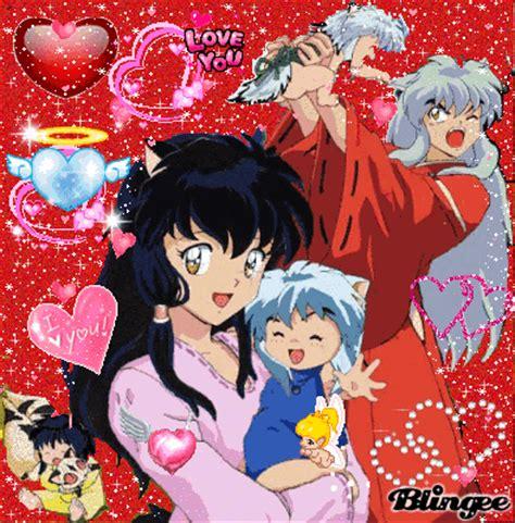 imagenes de caricaturas japonesas inuyasha kagome i su familia picture 42722274 blingee com