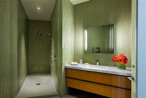 hollywood regency bathroom 20 refreshing bathrooms with a splash of green
