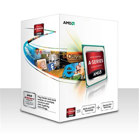 Amd A4 4020 Radeon Hd7480d 3 2ghz Cache 1mb 65w Socket Fm2 amd a4 4020 3 2 ghz processeur amd sur ldlc