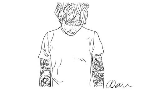 ed sheeran tattoo drawing ed sheeran drawing s 246 k p 229 google internet kids
