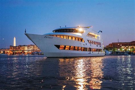 washington dc river boat cruises dinner cruise buffet along the potomac river washington