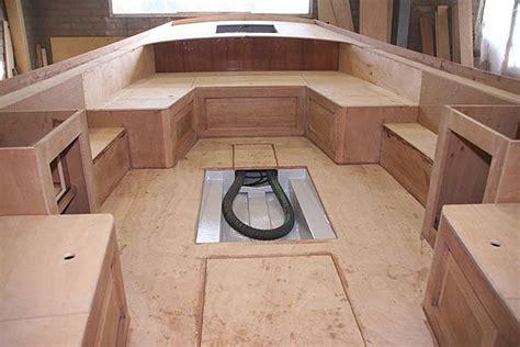 polyester boot bank maken bouwtekeningen van lageweg jachtontwerp allina 630