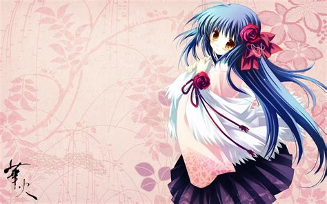 anime wallpaper in laptop miko girl anime wallpaper pack randomness thing