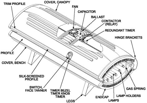 tanning bed wiring diagram 1966 international truck wiring