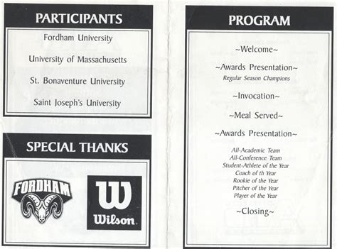 athletic banquet program template athletic banquet program search razorbacks