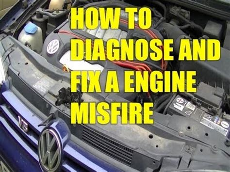 1997 nissan altima misfire diagnosis ericthecarguy youtube how to diagnose and fix a engine misfire