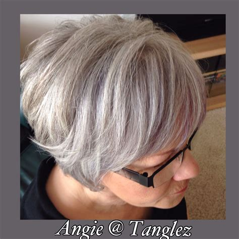 putting lowlights in gray hair gray and silver lowlights in white hair maturehair