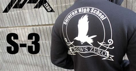Jaket Crows Denim crows denim jaket crows zero suzuran high school