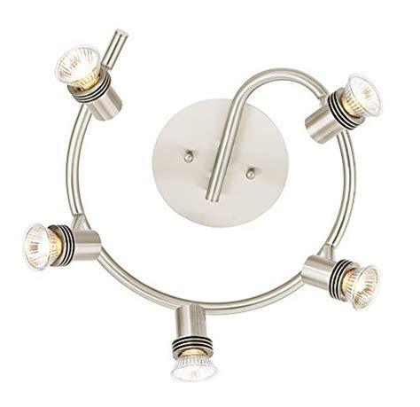 pro track lighting parts pro track 5 light spiral ceiling light home garden