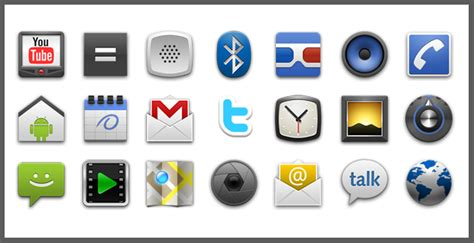 icons for android phones need social media icons for your website shauhn caughron design