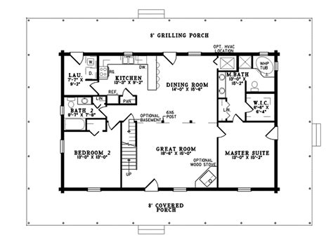 el dorado place rustic home plan 073d 0042 house plans