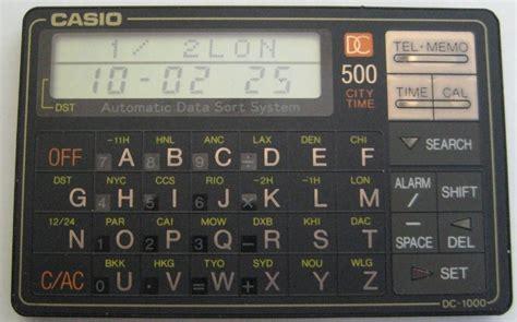 Kalkulator Casio Seri Financial les data cal ordinateurs de poche calculatrices casio