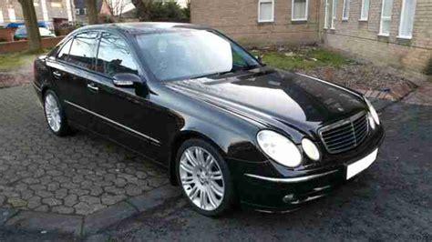 Mercedes E280 Cdi 2005 Mercedes E280 Cdi Sport 7g Auto Black Car For Sale