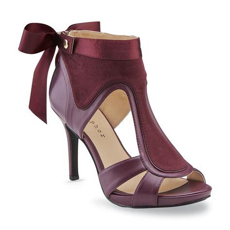 Metaphor Women's Sweetpea Red Wine High Heel Dress Shoe