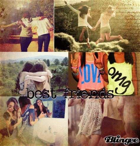 best friend collage maker best friend collage picture 123321287 blingee
