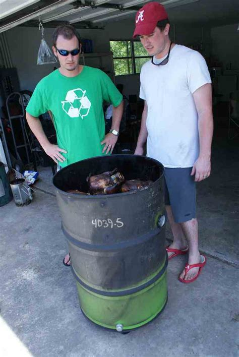 building pit drum how to build a bbq smoker out of a steel drum grilling companion
