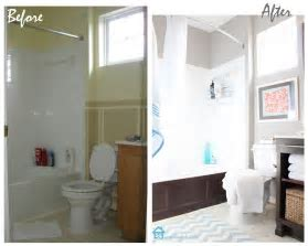Small Bathroom Makeovers Before And After   Creative Home Designer