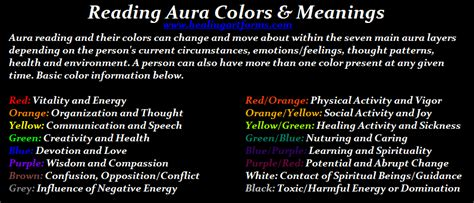 aura colors meaning reading aura colors meanings reiki with friends