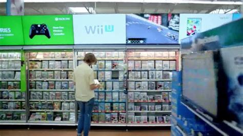 walmart tv commercial electronics department ispottv