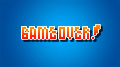 wallpaper game over game over hd games 4k wallpapers images backgrounds