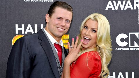 maryse kid the miz and maryse wedding www imgkid the image