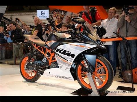 Ktm Racing India Ktm Launches Rc 390 Rc 200 Racing Bikes In India