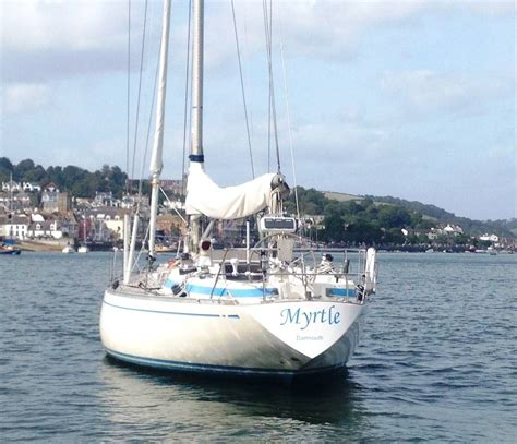 swan boats swansea swan 38 1976 cruising yacht for sale in dartmouth devon