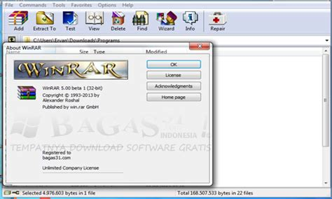 bagas31 zip winrar 5 00 beta 1 full keygen bagas31 com