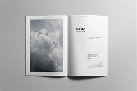 Minimalist Portfolio Book On Behance Indesign Photobook Templates