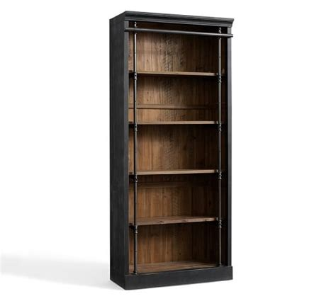gavin reclaimed wood bookcase pottery barn