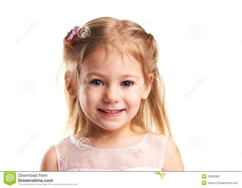 little girls little girl smiles stock photography image 23095382