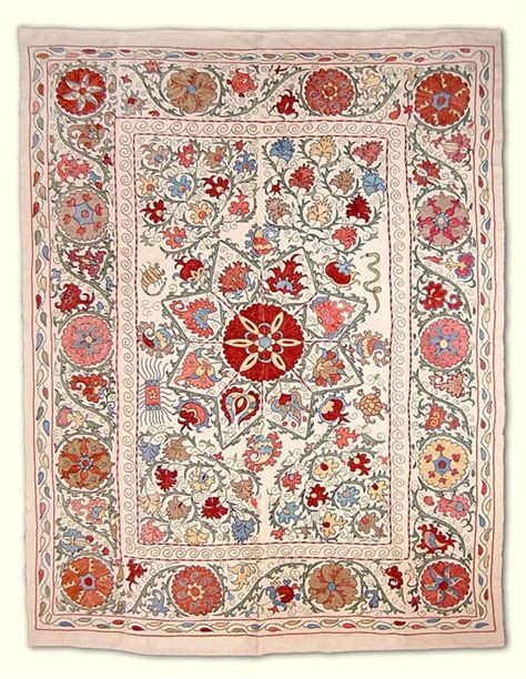 uzbek suzani silk embroidery small flowers with 1000 images about embroidery uzbekistan on pinterest