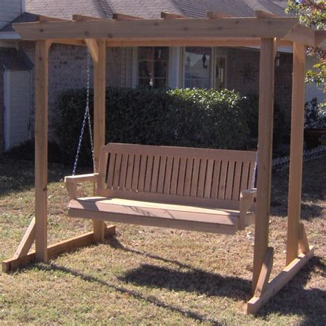 pergola porch swing tmp outdoor furniture