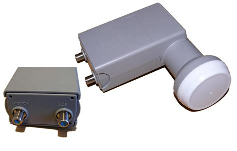 Multiswitch Lnb satcr unicable lnb with one additional legacy port for