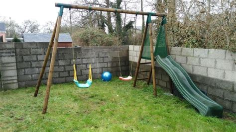 garden slide and swing garden swings and slide set for sale in whitegate cork