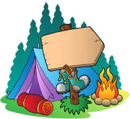 camping backgrounds cliparts