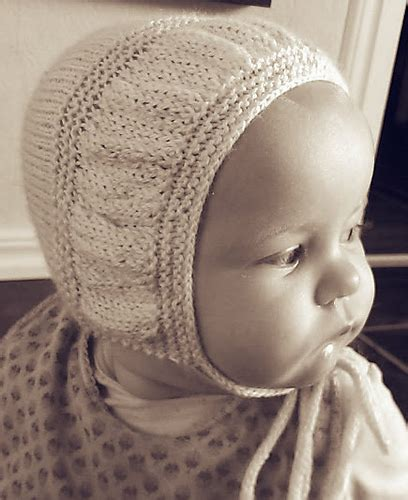 knit baby bonnet baby bonnet knitting patterns in the loop knitting