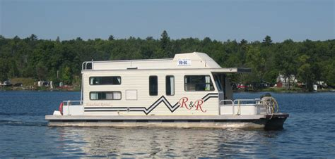 House Boat Rental by R R Houseboat Rentals Ontario Houseboat Rentals In The