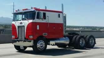 Interior Paint Used Outside Peterbilt 352 1973 Sleeper Semi Trucks
