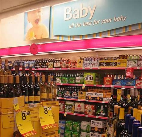 sections in the supermarket questionable baby section in supermarket the best place