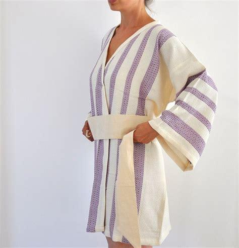 peshtemal robe peshtemal turkish bath towel kimono robe cotton bathrobe