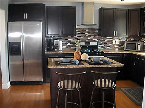 Can You Restain Kitchen Cabinets by Modern Espresso Kitchen Cabinets Kitchen Pro