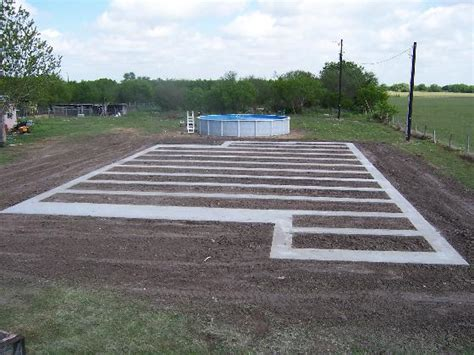 modular home foundation concret runner foundations for fha loans san antonio