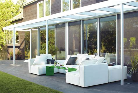 modern patio modern patio furniture that brings the indoors outside