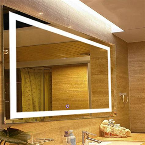 Bathroom Wall Mounted LED Lighted Vanity Mirror 31?X23?